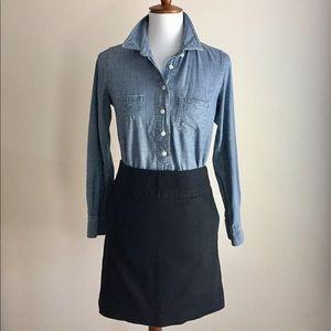 Loft pencil skirt | Black | Sz 2petite